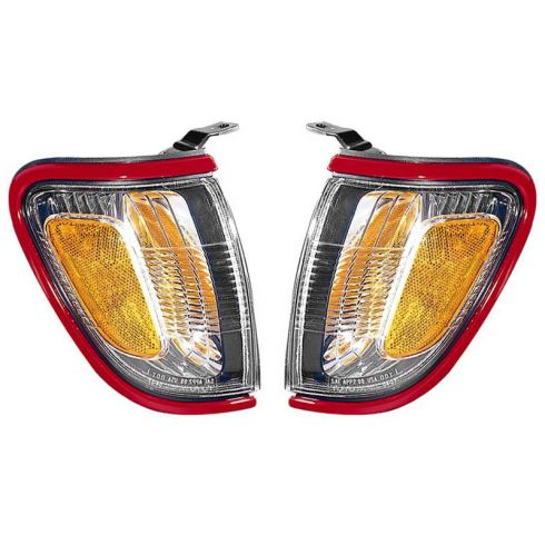 01-04 Tacoma Parking Turn Signal Light (RED 3L5) (Fender Mtd) PAIR