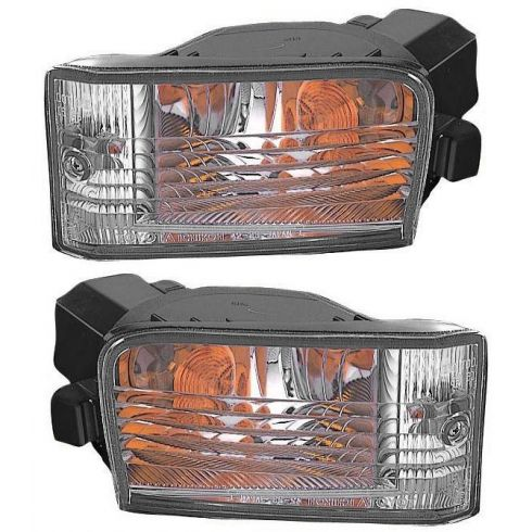01-03 Toyota Rav4 w/Fog Lights Parking Turn Signal Light PAIR