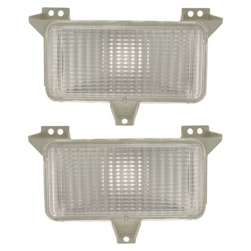 83-88 GM Truck w/Single HL Parklamp/ Turn Signal PAIR