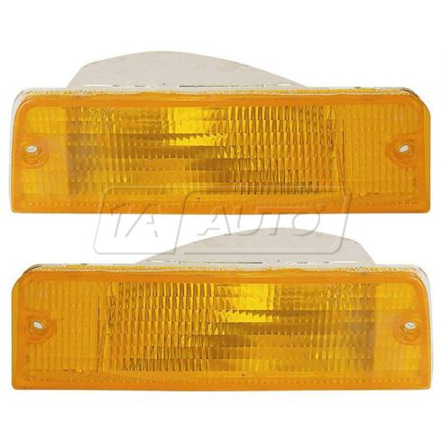 92-94 Dodge Shadow Sundance Parking Light PAIR