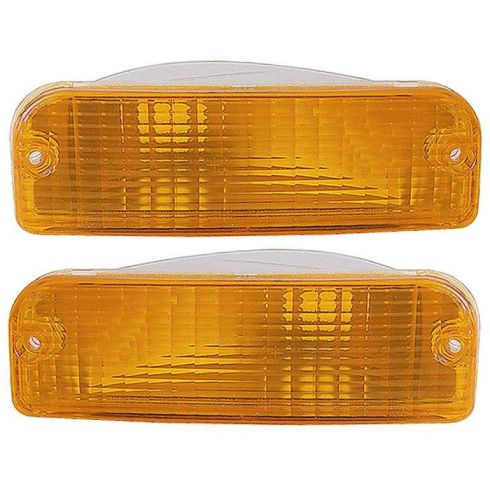 91-95 Dodge Spirit Acclaim Turn Signal Light PAIR