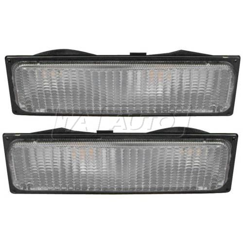 88-89 GM Truck w/Dual HL Turn Signal Light PAIR