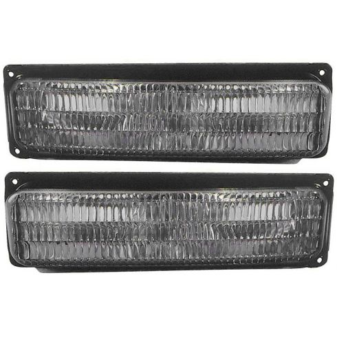 96-02 GM Express Savana Van w/Comp HL Turn Signal Light PAIR