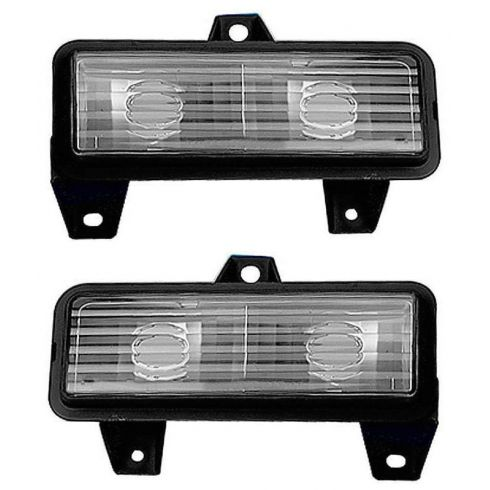 88-91 GM Truck 92-96 Van w/ SB HL Turn Signal Light PAIR