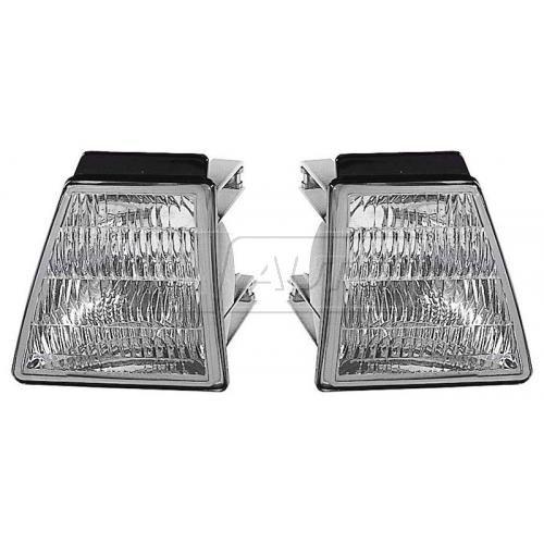 88-90 Chevy Cavalier Turn Signal Light PAIR