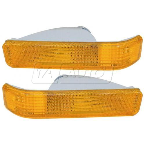 91-96 Dodge Dakota w/Comp HL Lower Turn Signal PAIR