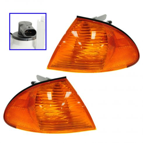 99-01 BMW 3 Series Sdn/ SW Turn Signal Light PAIR