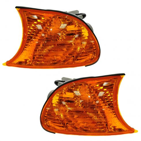 00-01 BMW 3 Series Cpe/Conv Amber Turn Signal Light PAIR