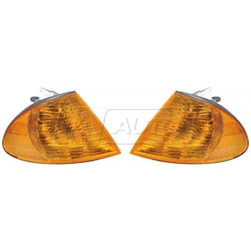 99-01 BMW 7 Series Amber Turn Signal Light PAIR