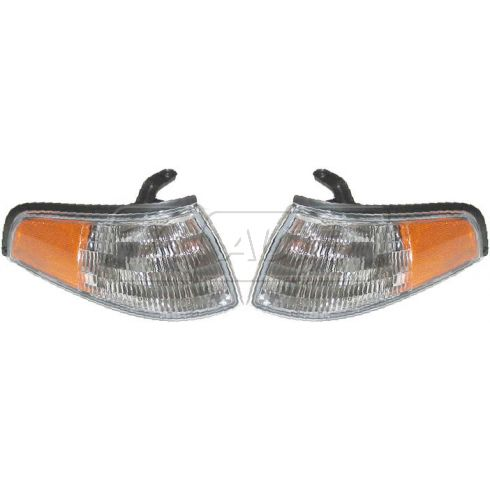 93-96 Mercury Tracer Corner Parking Light PAIR