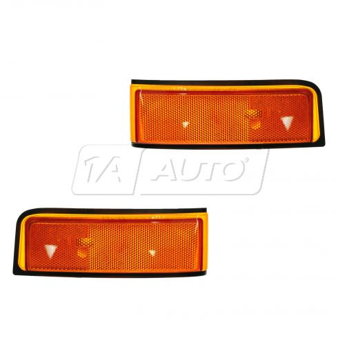 92-97 Olds Cutlass Supreme 2DR Corner Parking Light PAIR