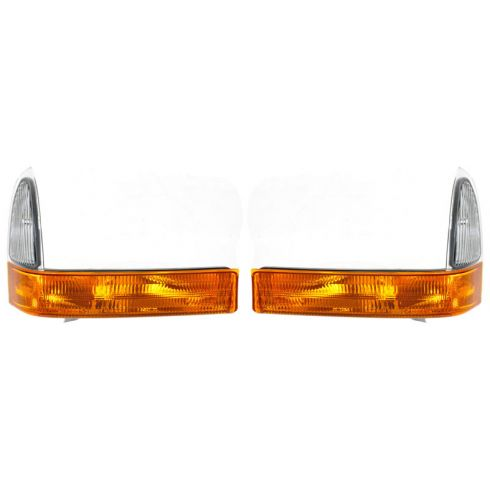 2001 Ford F250SD-F550SD Parklamp/Turn Signal; (below hdlp), w/amber lens PAIR