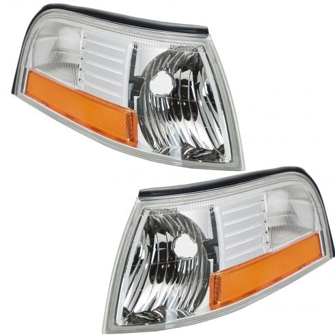 2003-05 Mercury Grand Marquis Corner Parking Light Front PAIR