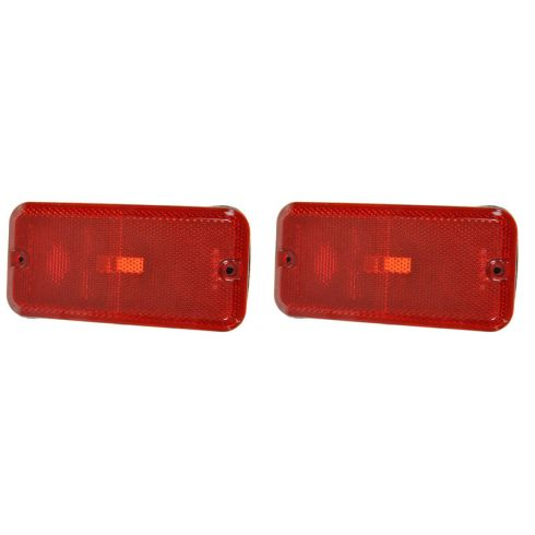 85-96 Chevy GMC Endura Van Rear Side Marker Light PAIR