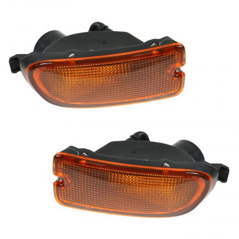 1999-01 Subaru Impreza RS Parking Turn Signal Light (Bumper Mtd) PAIR