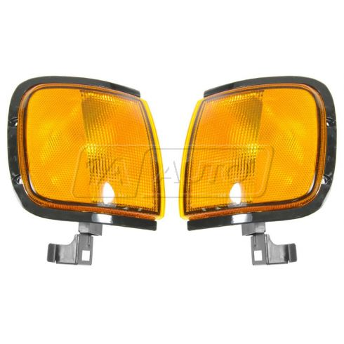 1998-99 Isuzu Amigo, Rodeo, Honda Passport Corner Parking Light PAIR