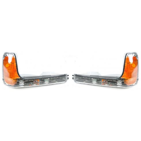 1999-00 Cadillac Escalade; 99 GMC Yukon w/Comp HL; 00 Yukon Denali Corner Parking Light PAIR