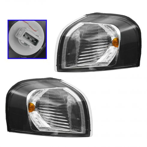 2001-03 Volvo S60; 01-03 Volvo V70 FWD; 99-06 S80 Corner Parking Light PAIR
