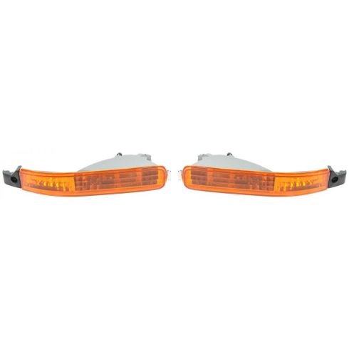 1992-93 Honda Accord Parking Turn Signal Light (Bumper Mtd) PAIR
