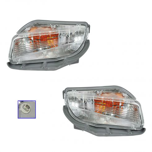 12-13 Toyota Prius V Turn Signal Light PAIR