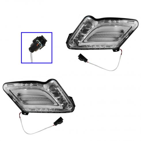 11-13 Volvo S60 Parking Light PAIR