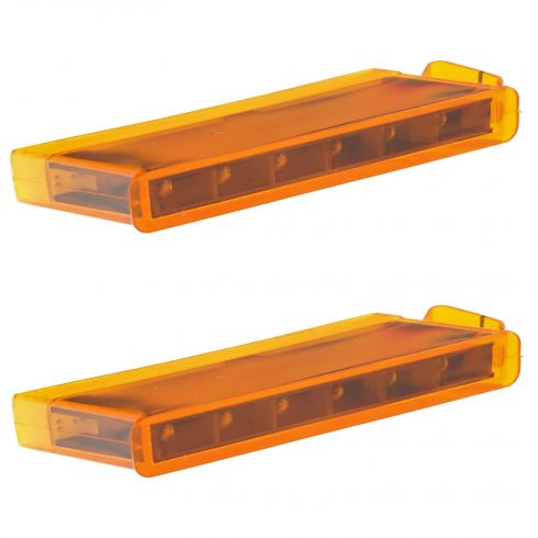 04-13 Ford F150 Mirror Mounted Amber Turn Signal Module Replacement Kit PAIR