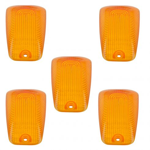 88-98 GM C/K 1500; 88-00 C/K 2500; 88-02 C/K 3500 Roof Mounted Cab Clearance Light Lens Set (GM)