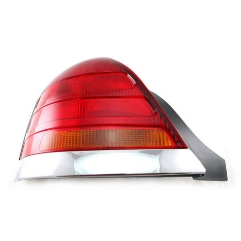 98-03 Crown Victoria Red & Amber Taillight LH
