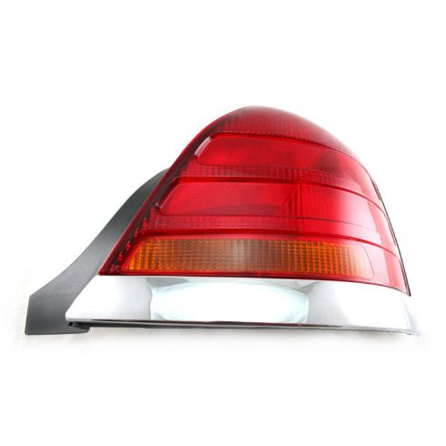 98-03 Crown Victoria Red & Amber Taillight RH