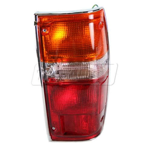 1984-89 Taillight (with wires & chrome trim) RH