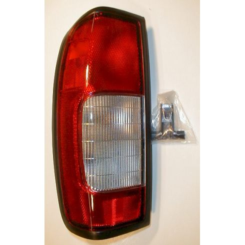98-00 Nissan Frontier Pickup Taillight Clear Lens - LH