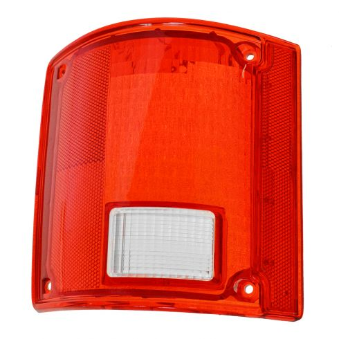 73-91 GM truckTaillight Lens w/o Chrm Trim LH