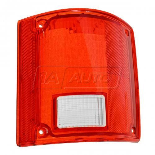 73-91 GM truck Taillight Lens w/o Chrm Trim RH