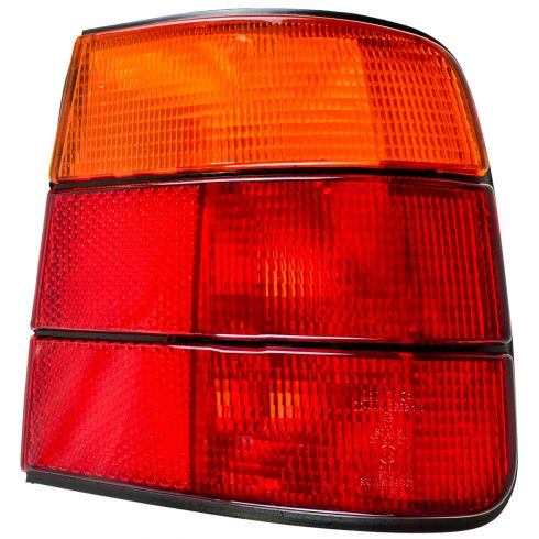 1989-95 BMW 525i Tail Light Red and Amber RH