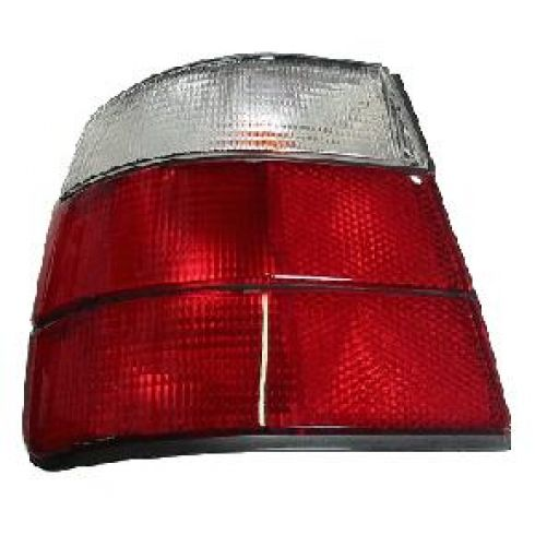 1989-95 BMW 540i Tail Light Red and Clear LH