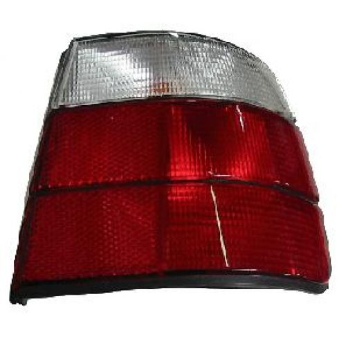 1989-95 BMW 540i Tail Light Red and Clear RH