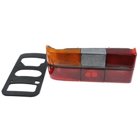 1986-93 Volvo 240 Tail Light With Black Trim LH