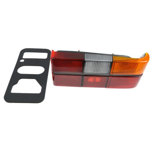 1986-93 Volvo 240 Tail Light With Black Trim RH