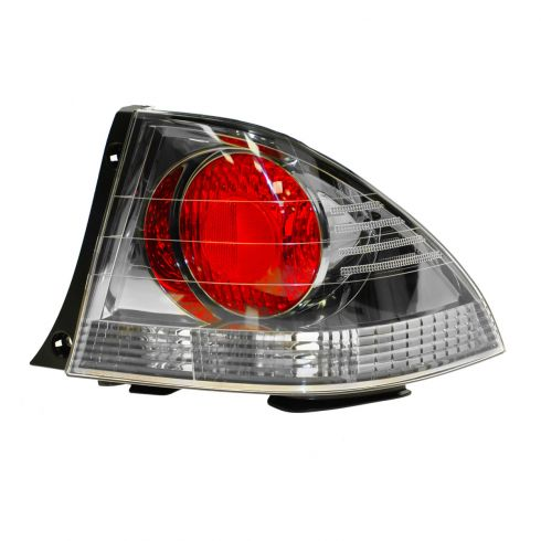 01-03 Lexus IS300 Taillight Dk Metallic Bezel R