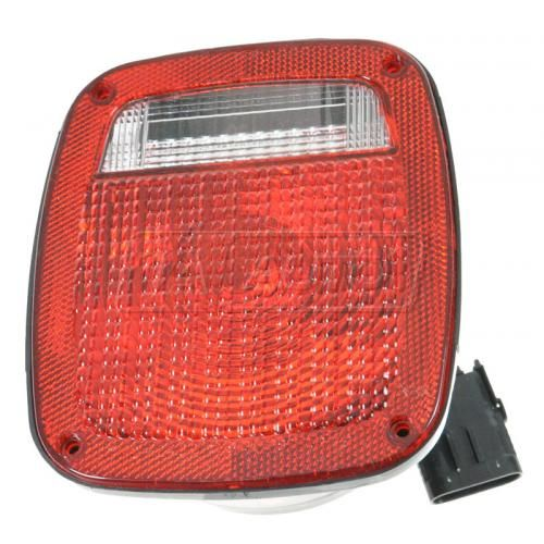 1987-06 Jeep Wrangler Tail Light Driver Side