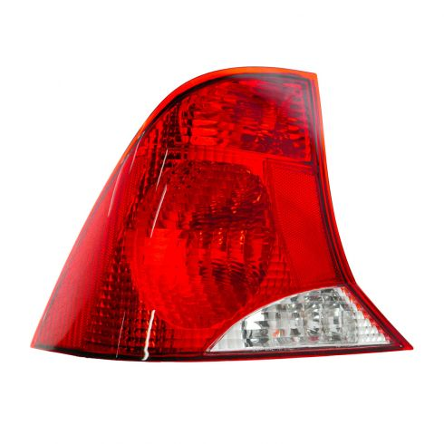 2003-04 Ford Focus Sedan Tail Light with Black Housing Driver Side