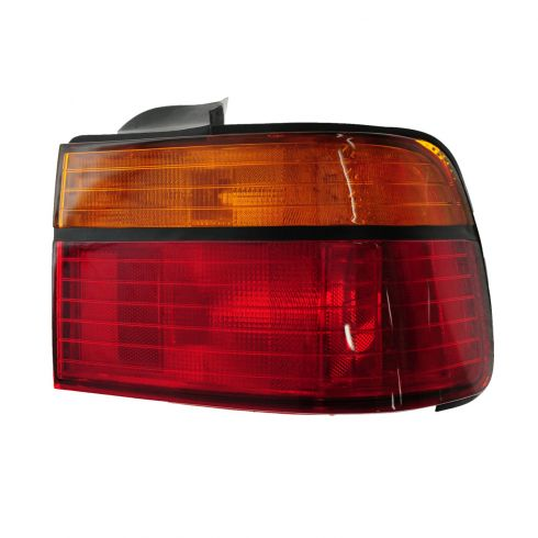 1990-91 Honda Accord Tail Light Passenger Side for Sedan/Coupe Lens and Housing