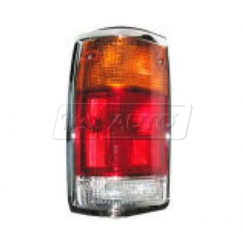 1986-93 Mazda Pickup Tail Light with Chrome Trim Driver Side