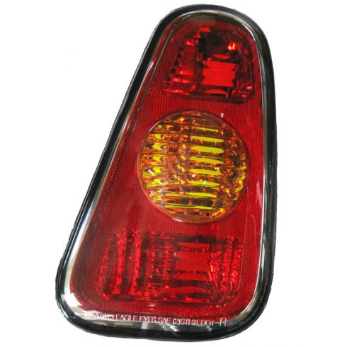 2002-06 Mini Cooper; 2007 Cooper Conv Tail Light w/o Clear Lens RH