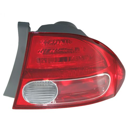 2006-07 Honda Civic Tail Light Passenger Side for Sedan Std or Hybrid