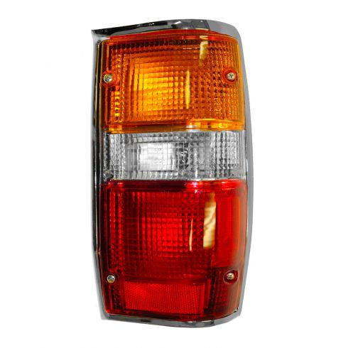 87-96 Mitsubishi Pickup Dodge  D50 Tail Light RH With Chrome Trim