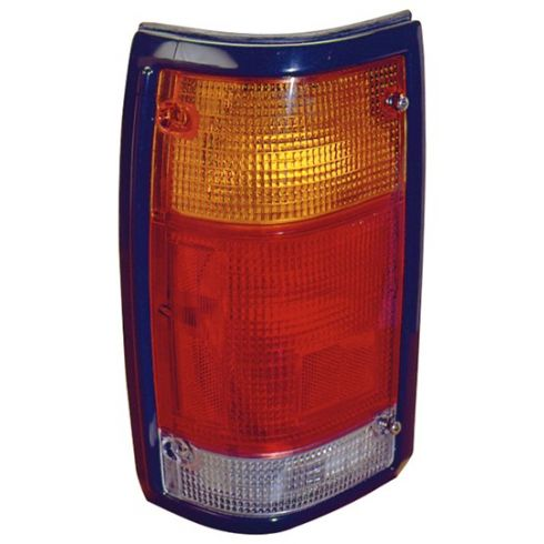 86-93 Mazda Pickup Tail Light With Black Trim LH