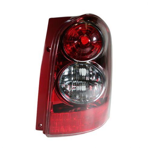 04-06 Mazda MPV Tail Light RH With Red Bezel