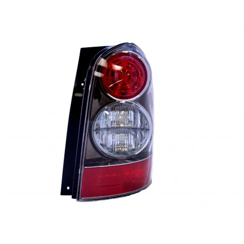 2004-06 Mazda MPV Tail Light Passenger Side With Black Bezel