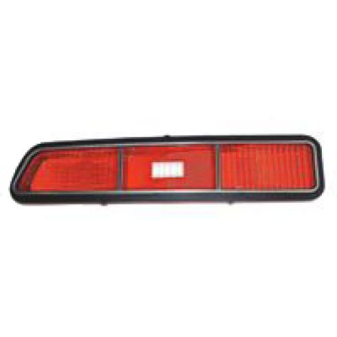 69 Chevy Camaro Tail Light Lens for standard model LH